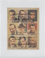 Neil Hamilton, Lionel Barrymore, Clark Gable, Jimmy Durante, Helen Hayes, Walla…