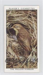 1932 Player's Wild Birds - Tobacco [Base] #45 - The Willow-warbler