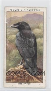 1932 Player's Wild Birds Tobacco [Base] #31 - The Raven