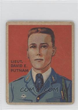 1933-34 National Chicle Sky Birds R136 #1 - Lieut. David E. Putnam