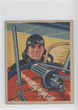 1933-34 National Chicle Sky Birds R136 #100 - Maj. David McK. Peterson