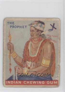 1933 Goudey Indian Gum - R73 - Series of 192 #34 - The Prophet