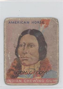 1933 Goudey Indian Gum - R73 - Series of 192 #43 - American Horse