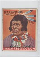 Chief of the Pot-O-Wat-O-Mies Tribe [Good to VG‑EX]