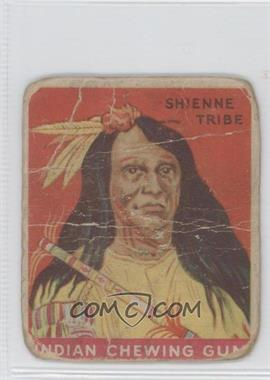 1933 Goudey Indian Gum R73 #1 - Shienne Tribe