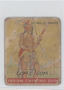 1933 Goudey Indian Gum R73 #35 - Ah-no-je-nahge