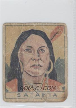 1933 Goudey Indian Gum R73 #45 - Satanta [Poor]
