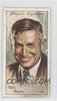 Will Rogers [Good to VG‑EX]