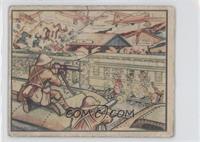 Japanese Attack Train at Wusih