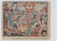 Shells Splinter Deck Of Tender With U.s. Refugees [Good to VG‑E…