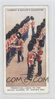 Presenting Leeks to the Welsh Guards, St. David's Day [GoodtoVG&#82…