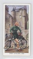Lady Cyclist, 1939 [Good to VG‑EX]