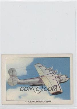 1940-42 Wings Cigarettes Series A - T87 #17 - U.S. Navy Patrol Bomber