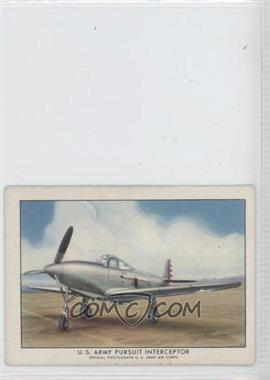 1940-42 Wings Cigarettes Series A [???] T87 #1 - U.S. Army Pursuit Interceptor [Good to VG‑EX]