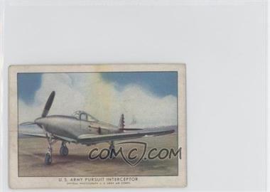 1940-42 Wings Cigarettes Series A [???] T87 #1 - U.S. Army Pursuit Interceptor