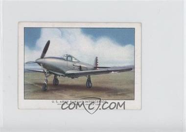 1940-42 Wings Cigarettes Series A T87 #1 - U.S. Army Pursuit Interceptor [Good to VG‑EX]