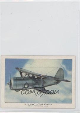1940-42 Wings Cigarettes Series A T87 #18 - U.S. Navy Scout Bomber
