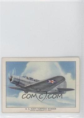 1940-42 Wings Cigarettes Series A T87 #19 - Torpedo Bomber