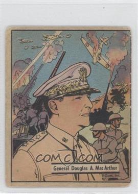 1941-42 War Gum - R164 #11 - General Douglas A. Macarthur [GoodtoVG‑EX]