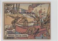 Malayans Check Jap Landing [GoodtoVG‑EX]