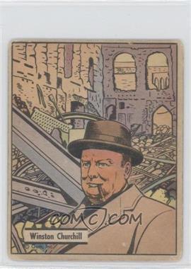 1941 War Gum R164 #15 - Winston Churchill [GoodtoVG‑EX]