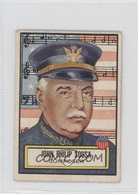 1952 Topps Look 'n See - [Base] #115 - John Philip Sousa [GoodtoVG‑EX]