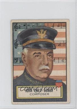 1952 Topps Look 'n See - [Base] #115 - John Philip Sousa