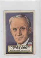Henry Ford [Good to VG‑EX]
