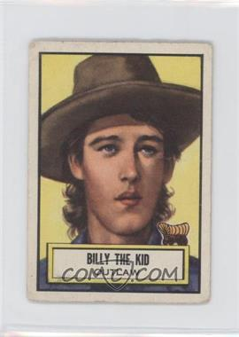 1952 Topps Look 'n See - [Base] #63 - Billy The Kid [Good to VG‑EX]