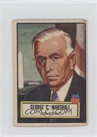 George C. Marshall [Good to VG‑EX]