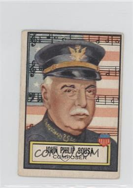 1952 Topps Look 'n See #115 - John Philip Sousa