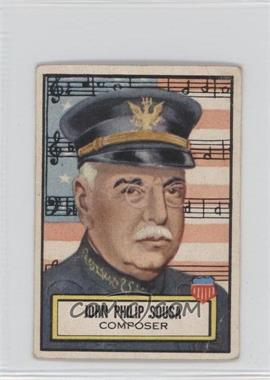 1952 Topps Look 'n See #115 - John Philip Sousa [Good to VG‑EX]