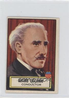 1952 Topps Look 'n See #117 - Arturo Toscanini