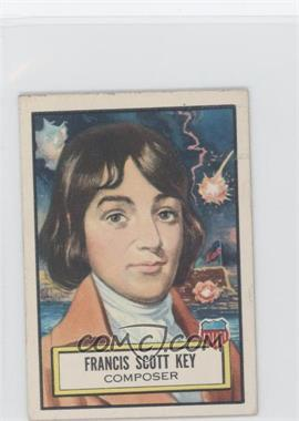 1952 Topps Look 'n See #12 - Francis Scott Key [Good to VG‑EX]