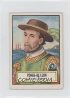Ponce De Leon [Good to VG‑EX]