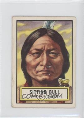 1952 Topps Look 'n See #58 - Sitting Bull [GoodtoVG‑EX]