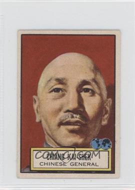 1952 Topps Look 'n See #85 - Chiang Kai-Shek