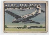 Avro Jetliner Canadian Civil Jet Transport [Poor]