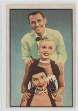 1953 Bowman Television and Radio Stars of the NBC Vertical Back #66 - The Hamilton Trio