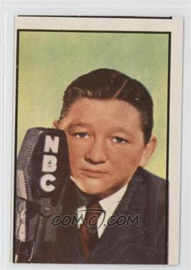 1953 Bowman Television and Radio Stars of the NBC Vertical Back #81 - Walter Tetley