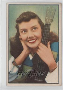 1953 Bowman Television and Radio Stars of the NBC Vertical Back #82 - Rhoda Williams