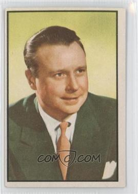 1953 Bowman Television and Radio Stars of the NBC Vertical Back #85 - [Missing]
