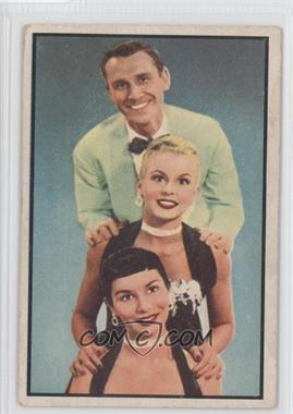 1953 Bowman Television and Radio Stars of the National Broadcasting Company (Vertical Backs) [???] #66 - The Hamilton Trio