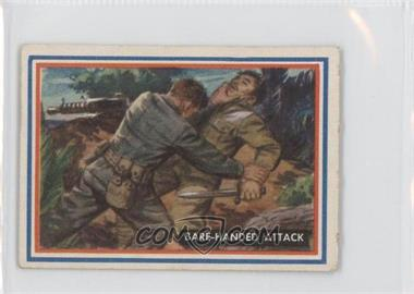 1953 Topps Fighting Marines #11 - Bare-handed Attack
