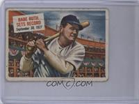 Babe Ruth Sets Record [Poor]