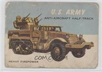 U.S. Army Anti-Aircraft Half-Track [Poor]