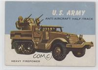 U.S. Army Anti-Aircraft Half-Track