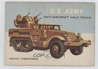 U.S. Army Anti-Aircraft Half-Track [Good to VG‑EX]