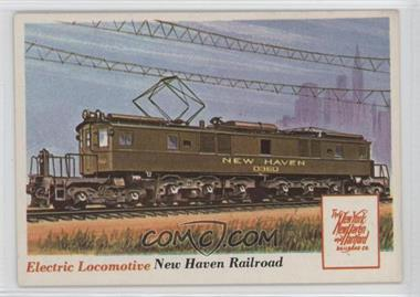 1955 Topps Rails and Sails - [Base] #70 - Electric Locomotive