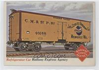Refrigerator Car [Good to VG‑EX]